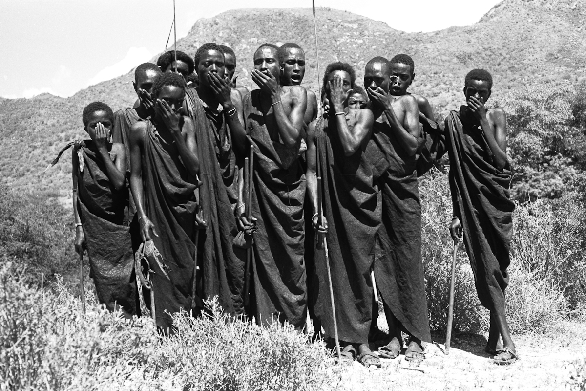 Wilfred Patrick Thesiger Date of Photo: 1961 Continent: Africa Geographical  Area: East Africa Country: Kenya Region/Place: Mathews Mountains Cultur…